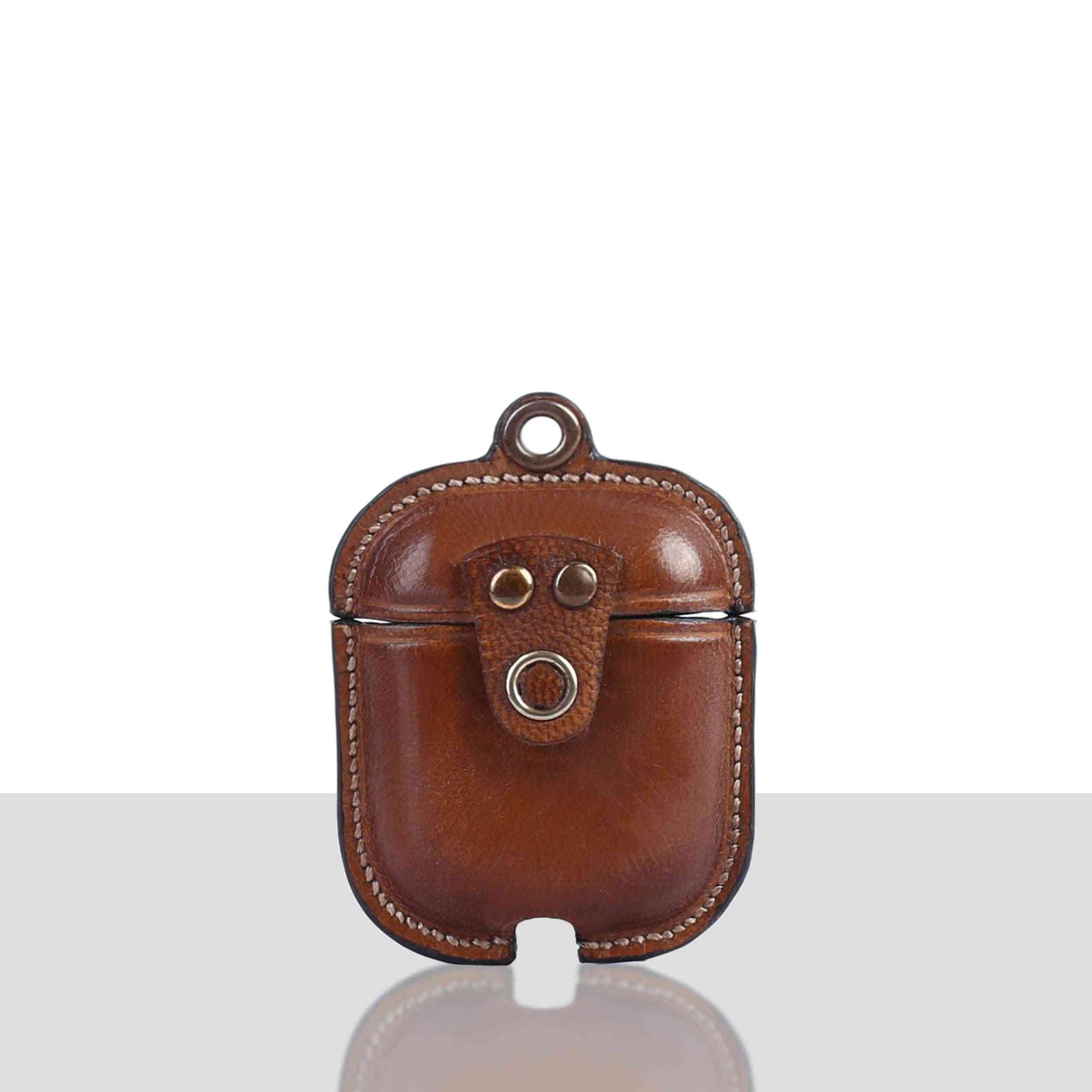 Leather Luxury Protective Cover Case Airpods