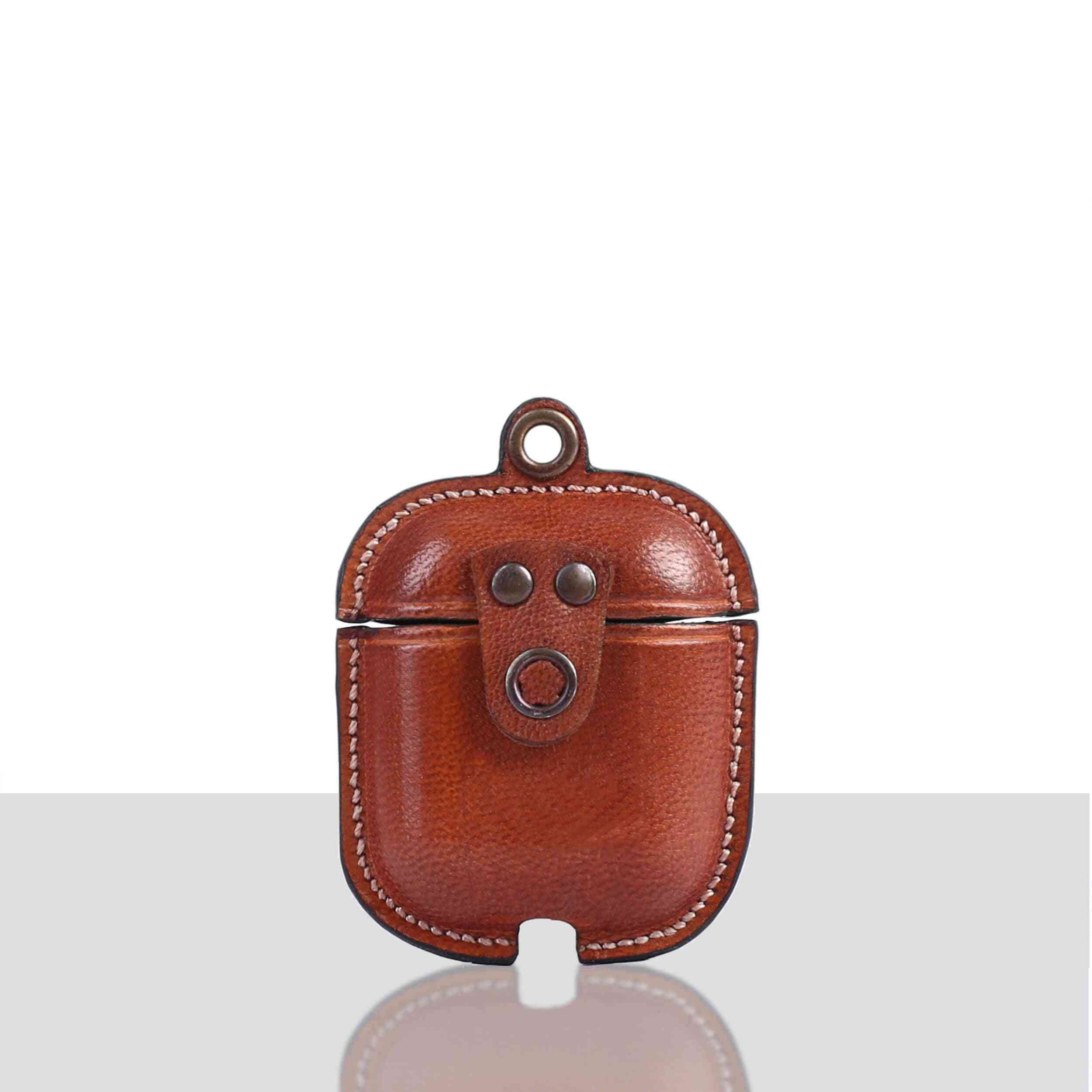 Veg Tanned Leather Luxury Protective Cover Case For Apple