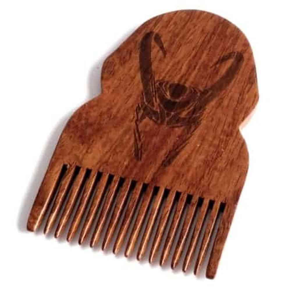 Loki Wooden Beard Comb