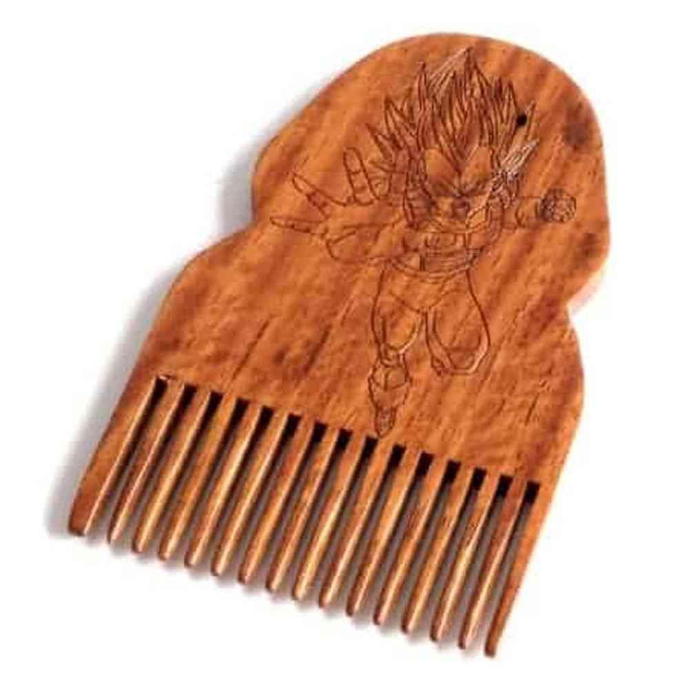 Dragon Ball, Z Vegeta- Wooden Beard Comb