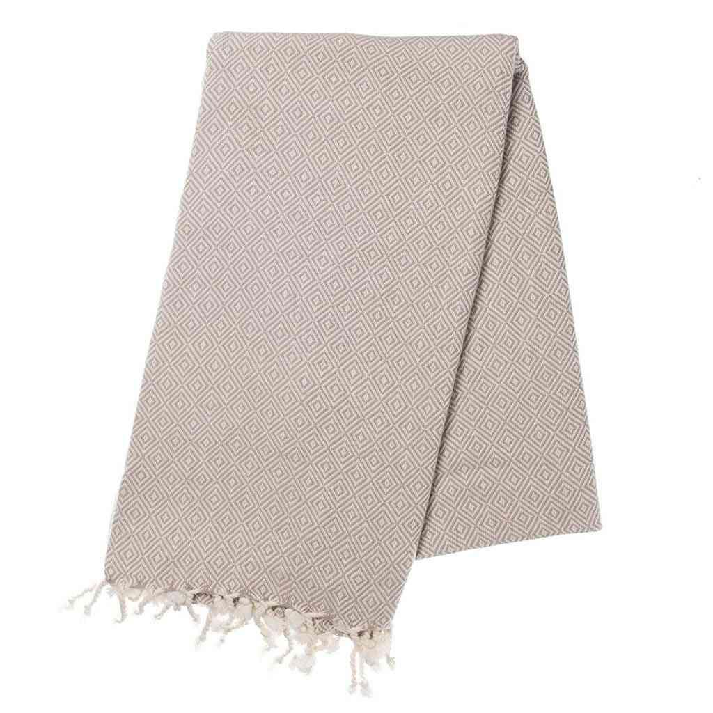 Sand Diamond Print Towel