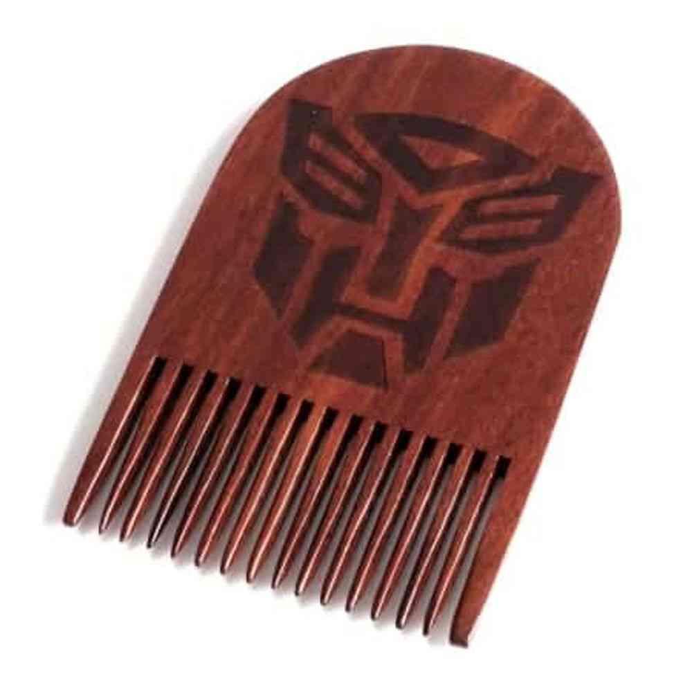 Autobots Wooden Beard Comb