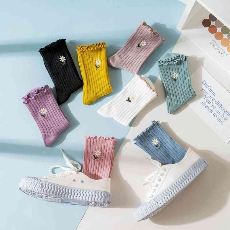 Daisey Graphic Cotton Casual Socks Set