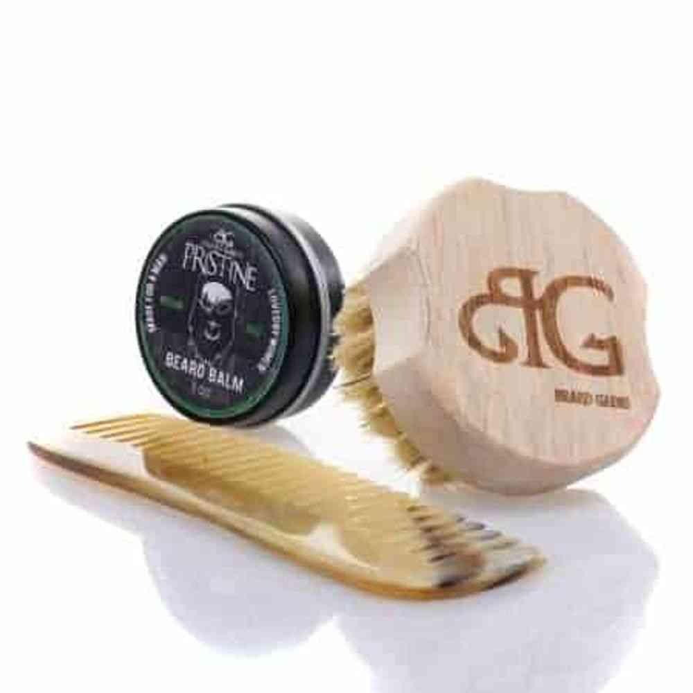 Brush & Comb Beard Kit