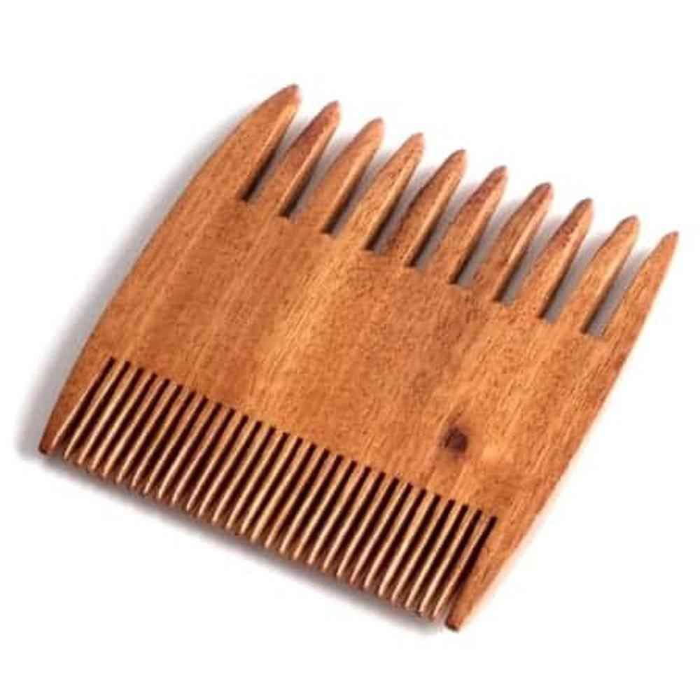 Beard Mustache Wooden Comb