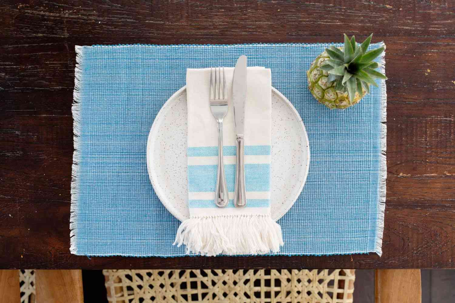 Pastel Blue- Inabel Placemat