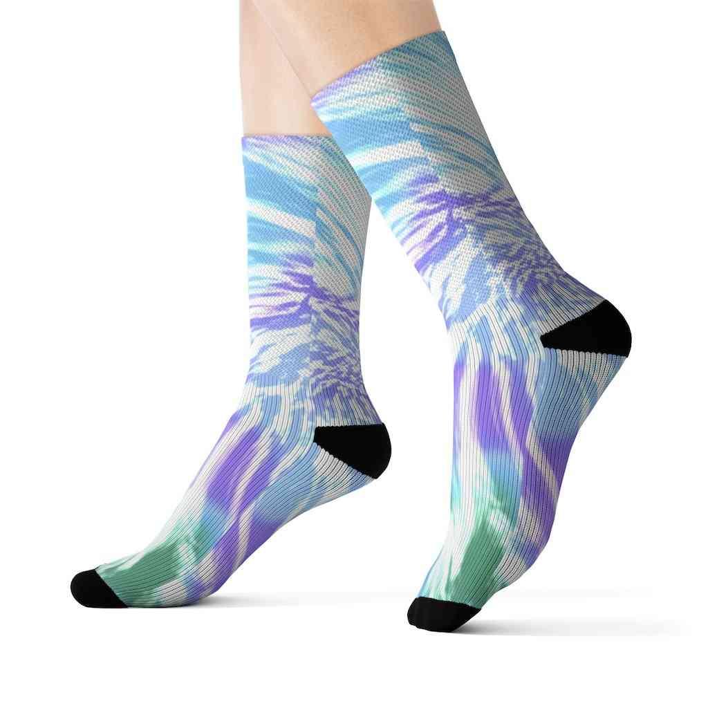 Tie Dye Novelty Socks