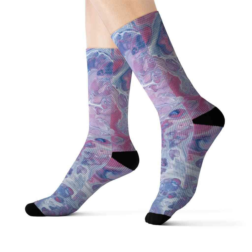 Tie Dye Fun Novelty Socks