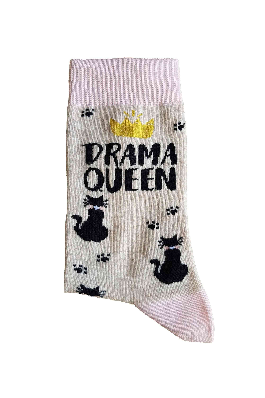 Drama Queen Cotton Socks