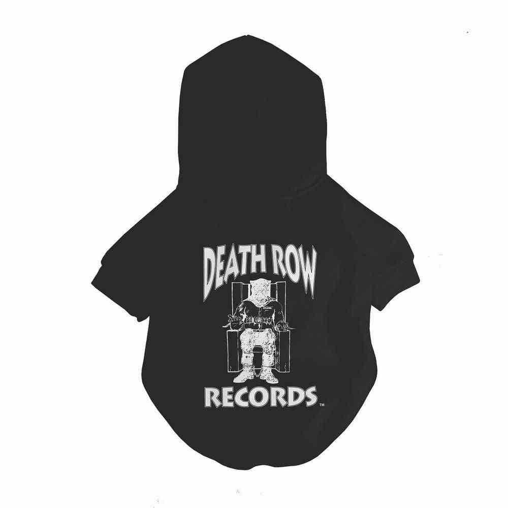Death Row X Fresh Pawz - Classic Logo Hoodie | Dog Clothing