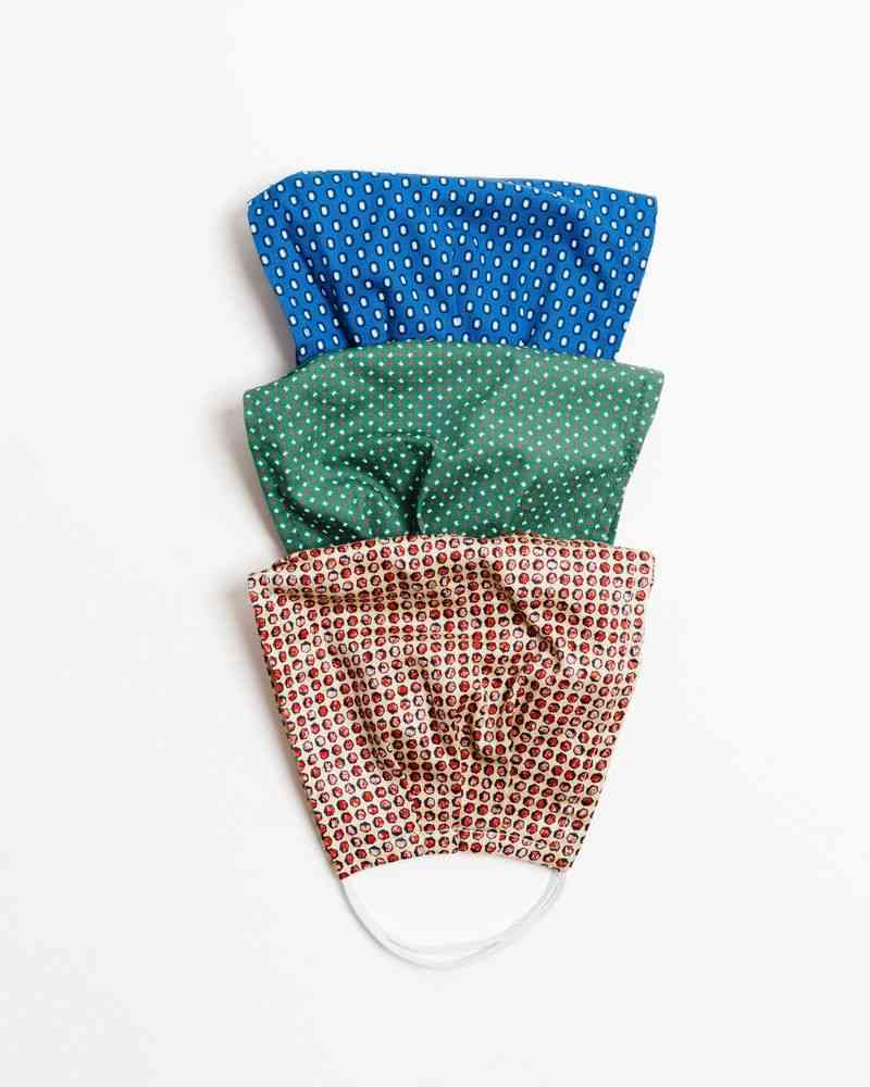 Professional Large Three Pack Face Mask