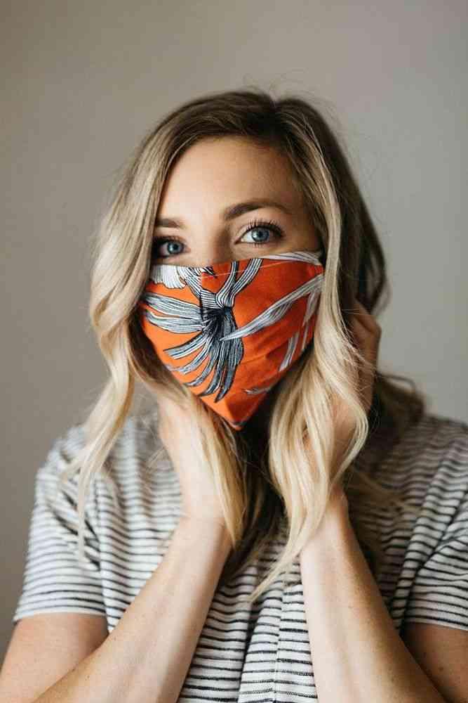 Scorpio Tropics Face Mask