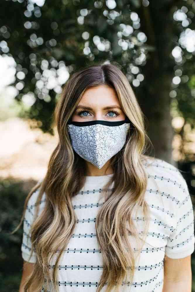 Pen & Ink Face Mask