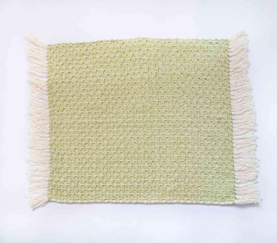 Diamond Feijoa Green Placemat (set Of 6)