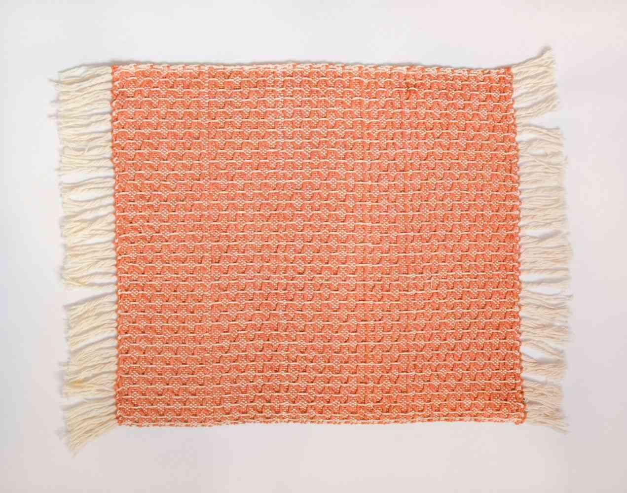Diamond Uchuva Orange Placemat (set Of 4)