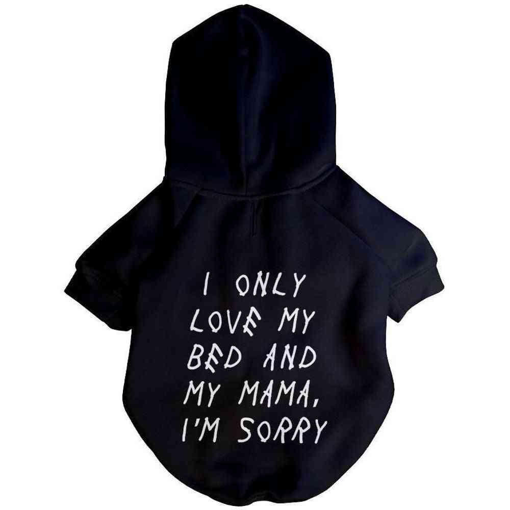 Champagne Puppy Hoodie | Dog Clothing