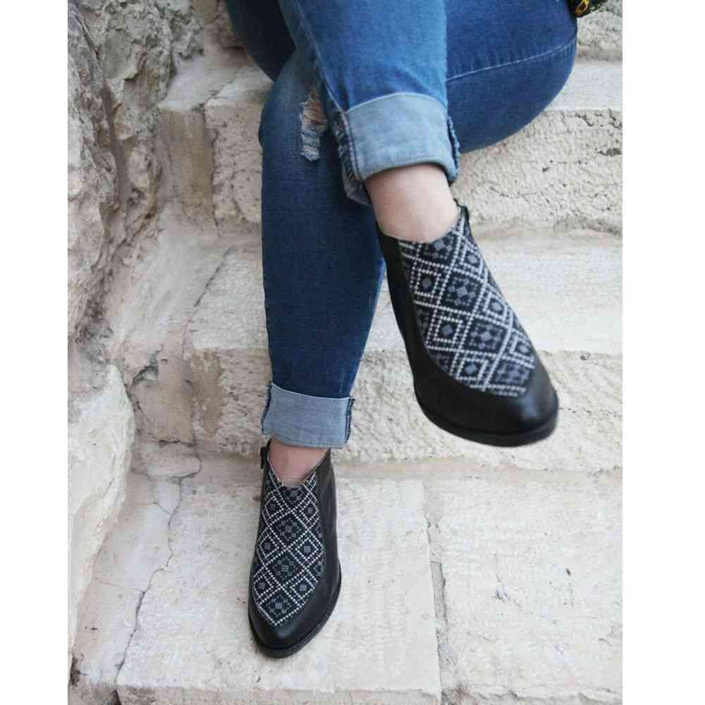 Bootie - Black And Gray