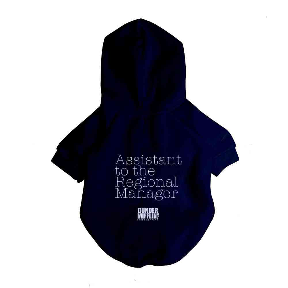 Assistant To Regional Manager Hoodie-dog Clothing