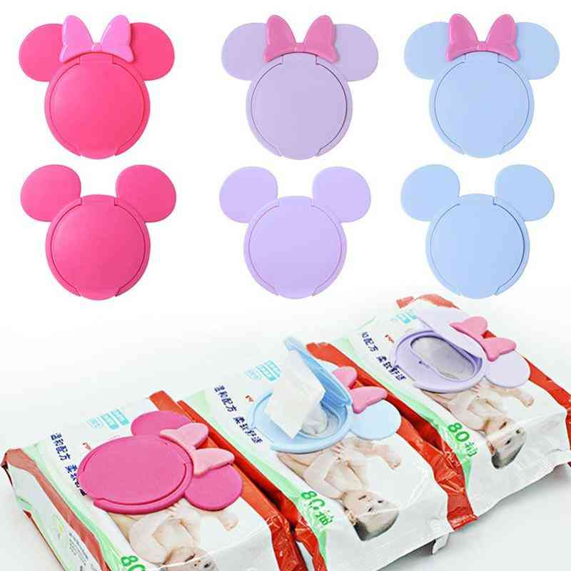 Baby Wipes Lid Portable Cartoon Mobile Wipes Useful Accessories