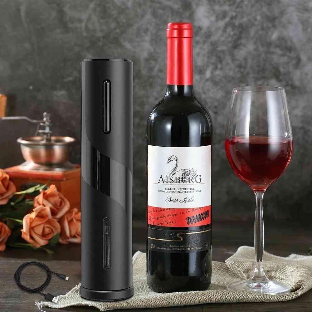 Rechargeable Electric Wine Bottle Opener Tool
