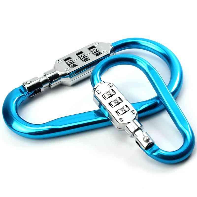 Coded Lock Carabiner