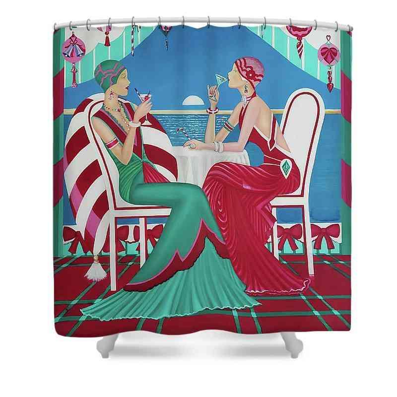 Christmas- Shower Curtain