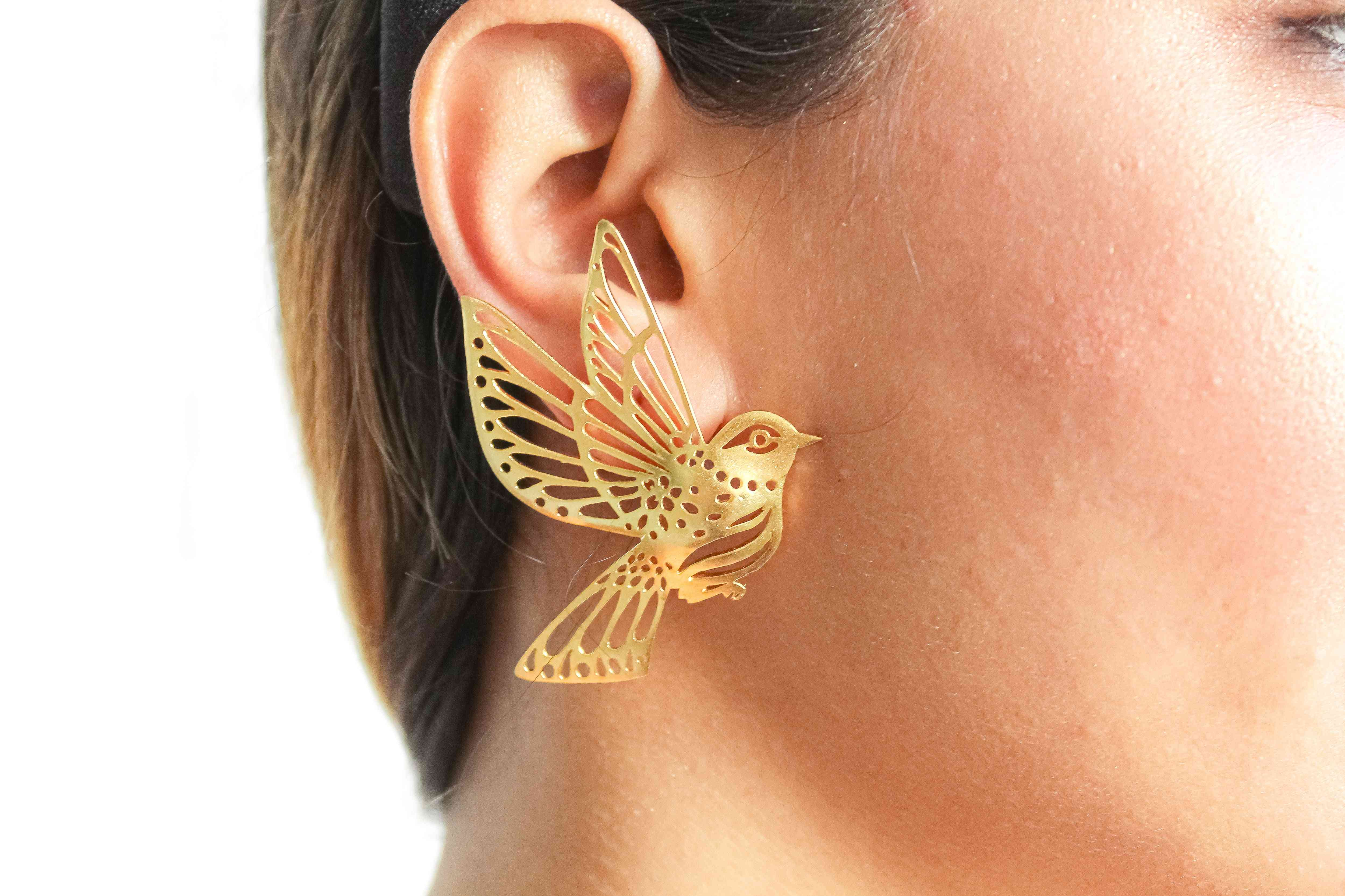 Queen Of The Sky Bombay Sunset Earrings