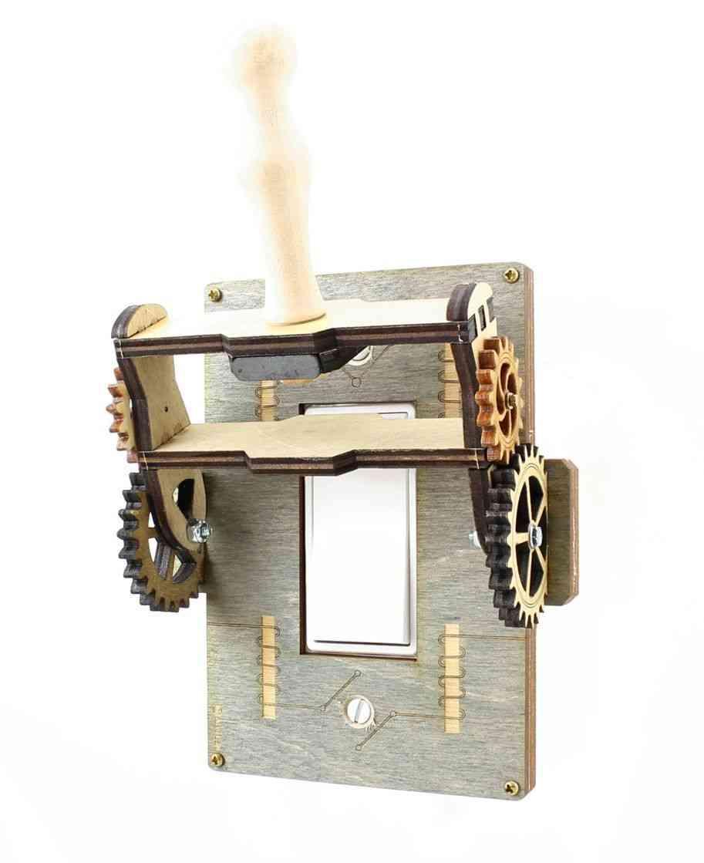 Steampunk Rocker Throw Switch - 8101a
