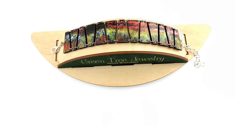 Sunset Flower Bracelet