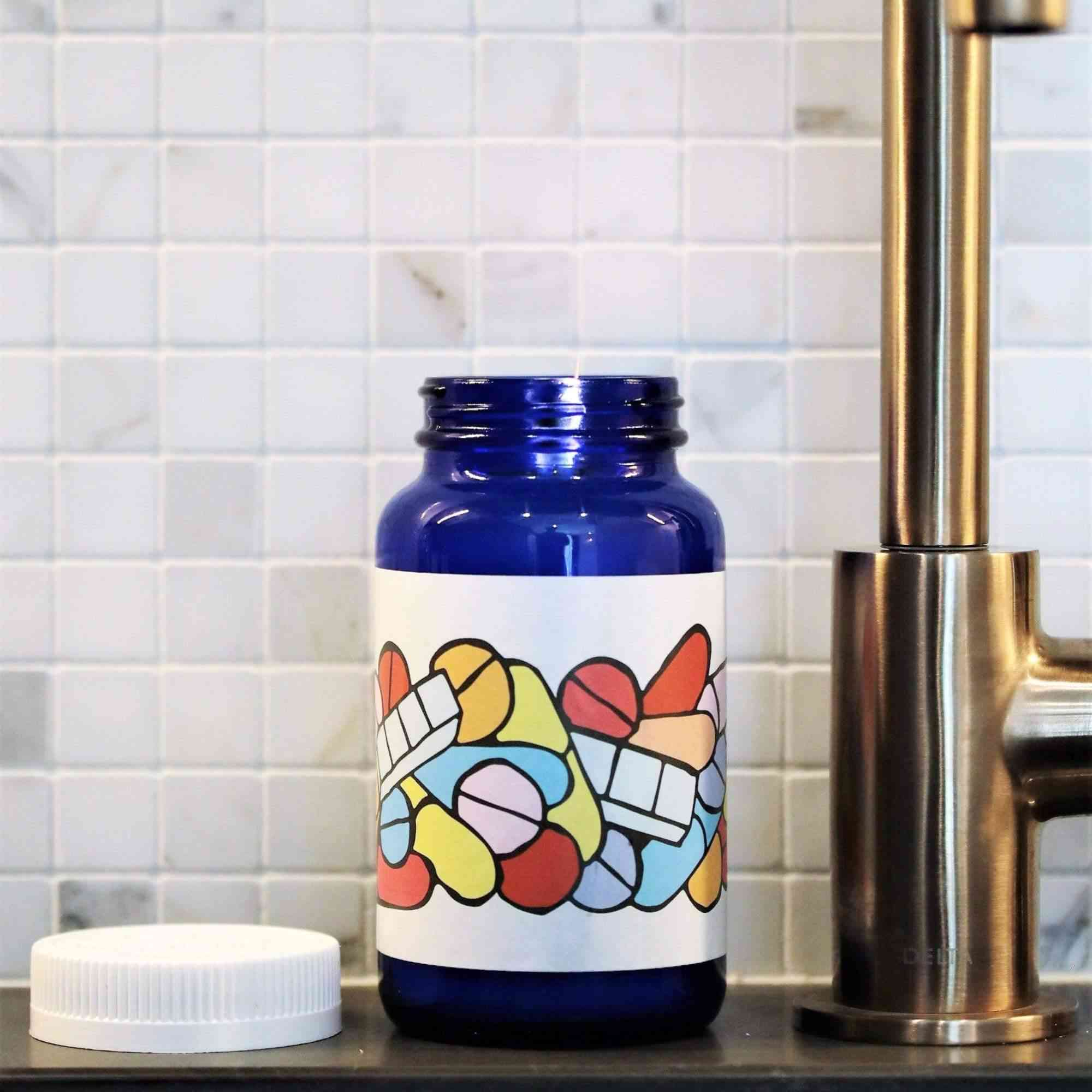Thompson Ferrier's Pills Candle