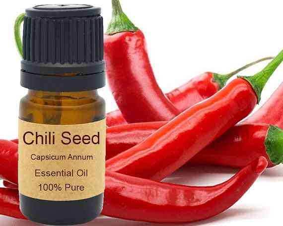 Chili Seed Essential Oil 15ml