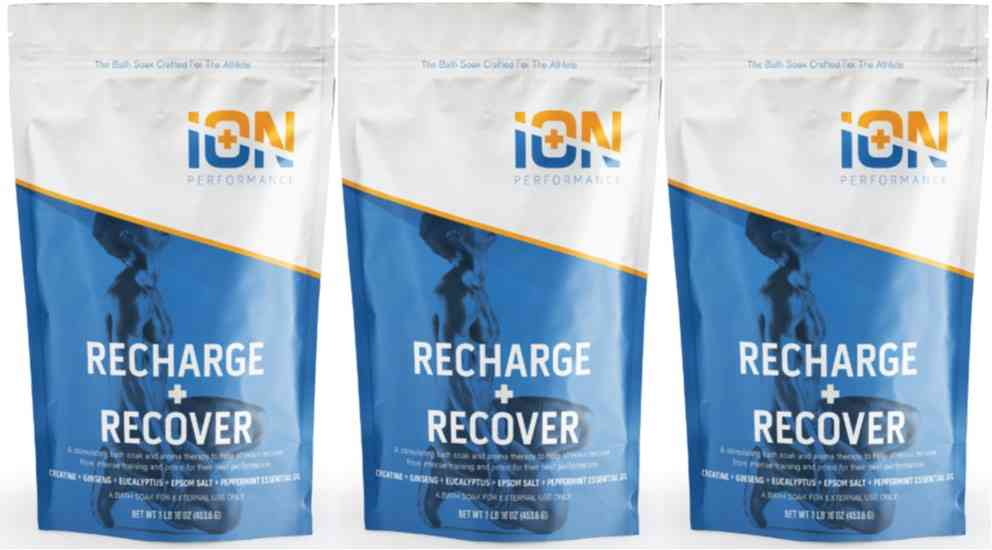 Ion Recharge + Recover Creatine Mg Soak 3 Pack