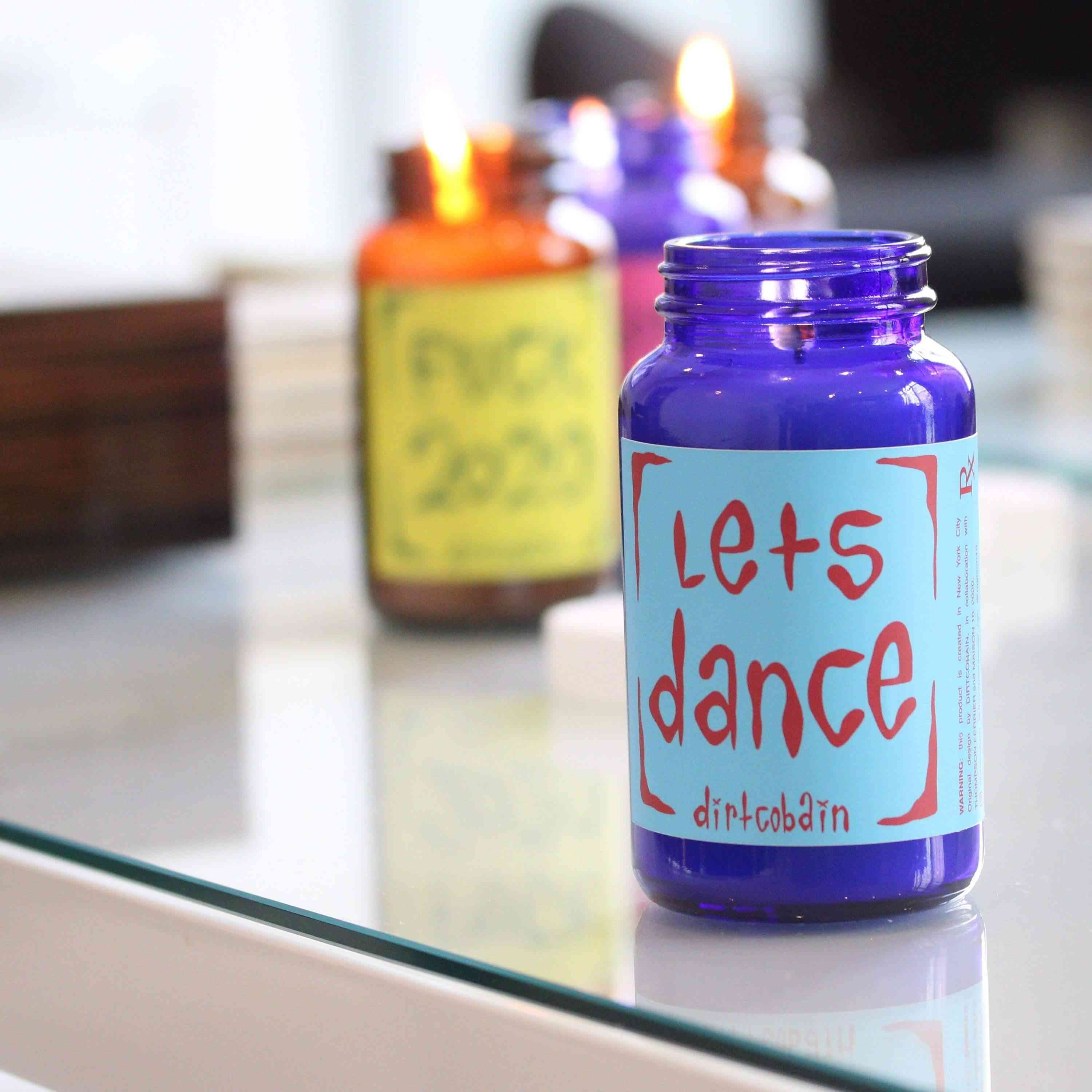 Pill Bottle Candle
