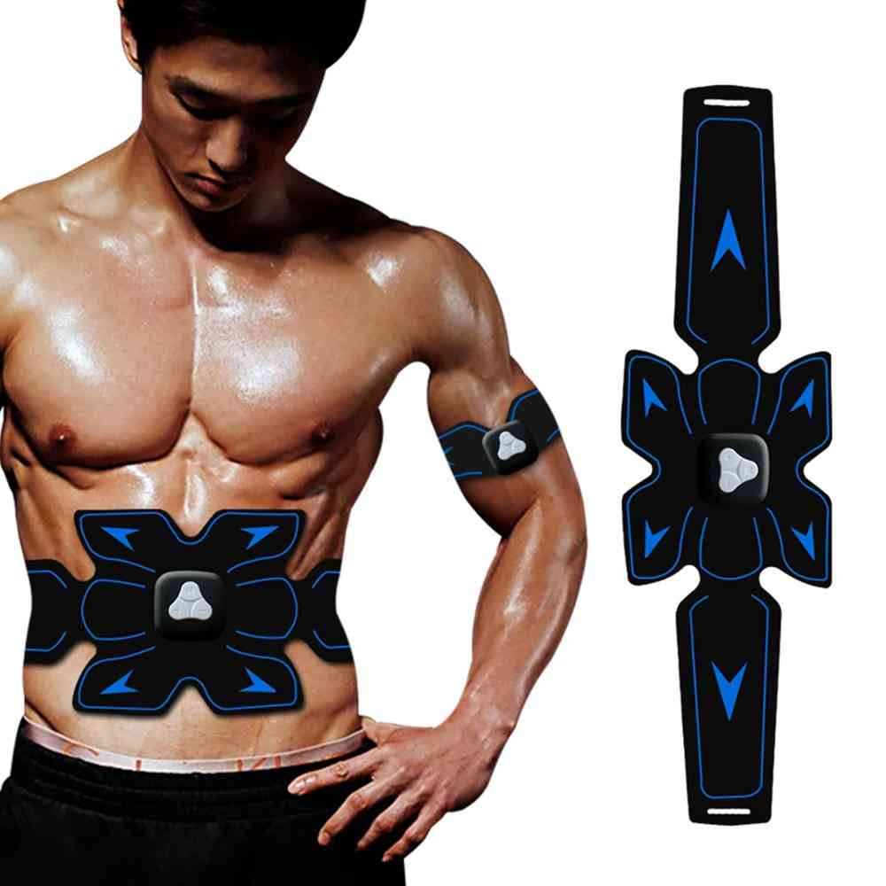 3 In 1 Ems Hip Muscle Stimulator Fitness Set Weight Loss Body Slimming