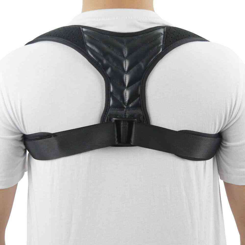 Adjustable Back Posture Corrector Wrist Brace Clavicle Spine Back