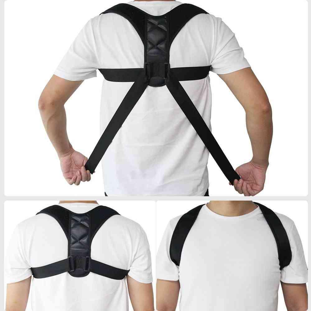 Adjustable Back Posture Corrector Support Belt Prevents Slouching