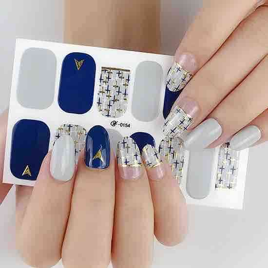 Good Force Gel Nail Wraps Stickers