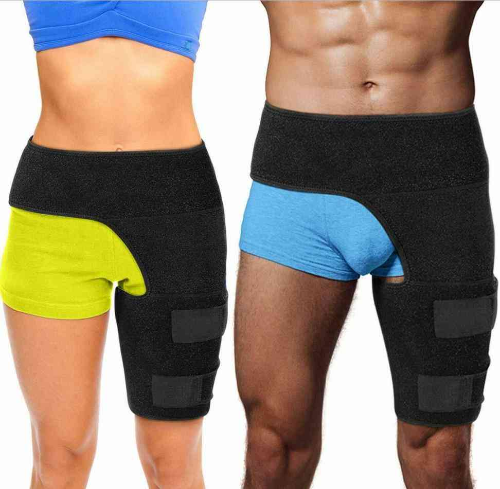 Professional Hip Support Groin Thigh String Strap Hip Sciatica Nerve