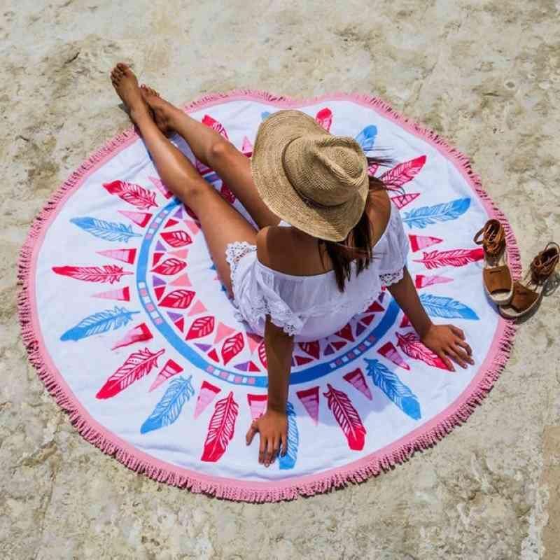 Dream Catcher Beach Towel