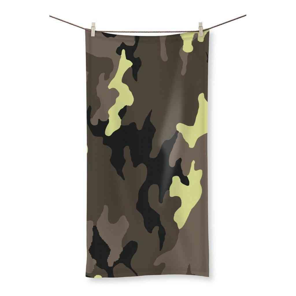 Camofludge 10 Beach Towel