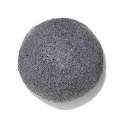 Natural Black Konjac Root Fiber, Facial Sponge