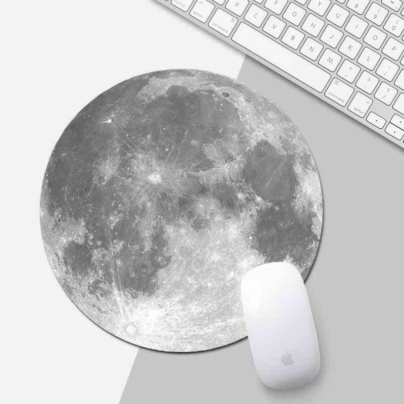 Moon Design Pattern, Mouse Pad