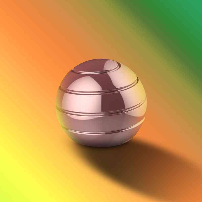 Novelty Decompression Gyroscope Toy Rose Gold