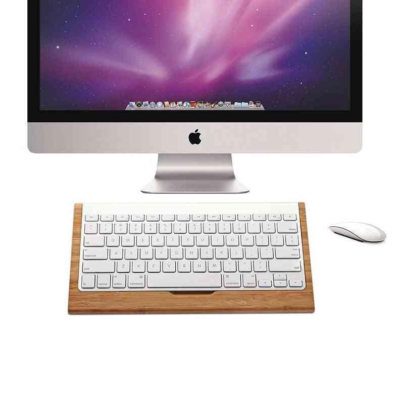 Bamboo Wireless Keyboard Holder