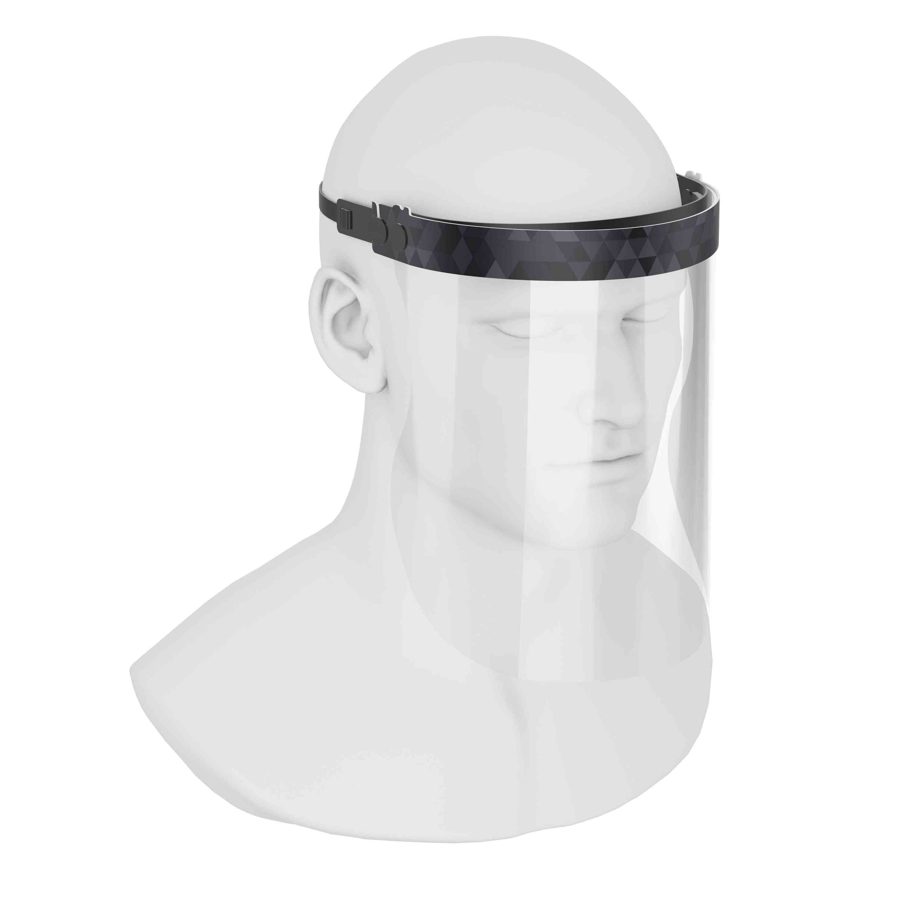 Isolay Face Shield Triangle Of Black Shades