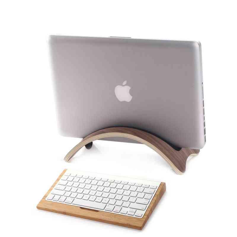 Bent Wood Macbook Holder