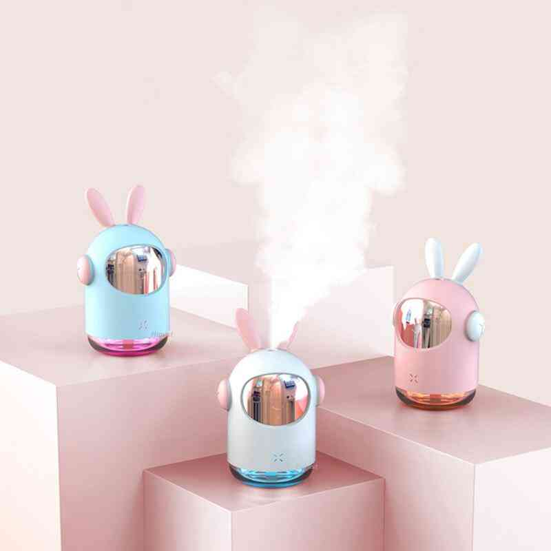 Space Bunny Humidifier 350ml  Cool Mist Maker Aroma Air Oil Diffuser