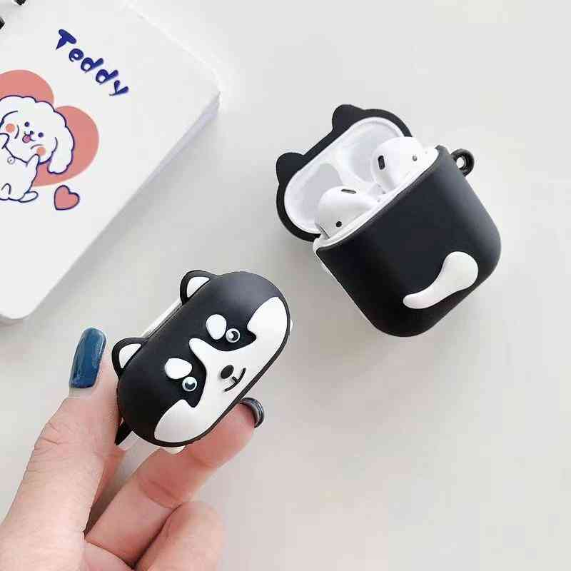 Huskie Dog For Airpods Case For Charging Box Wireless Earphone Cover
