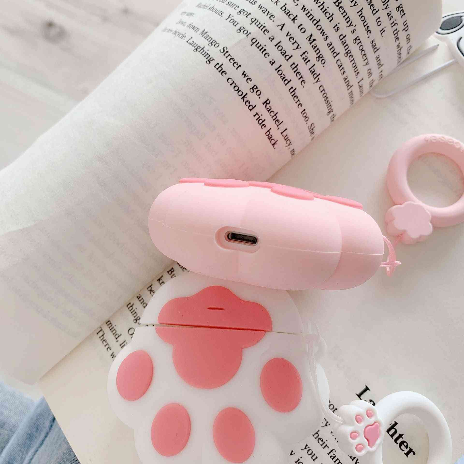 Silicone Cat Claw Headset Protector Earphone Protector
