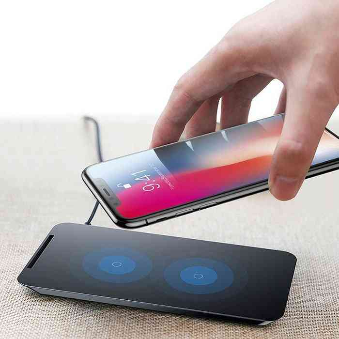 Fast Qi Wireless Charger Pad Stand